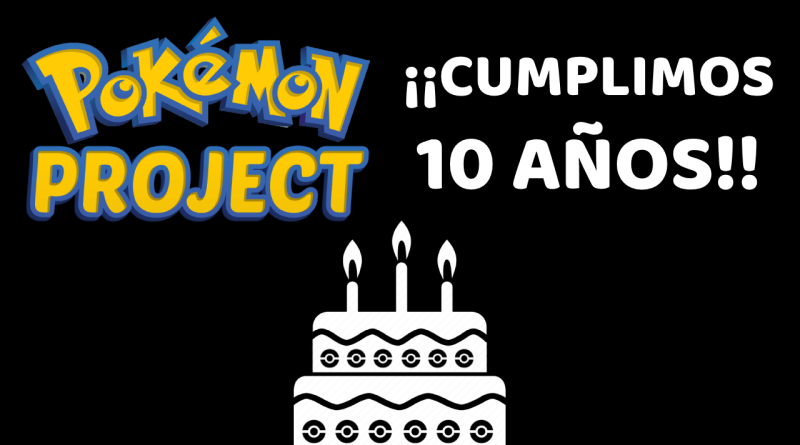 10 Aniversario Pokémon Project