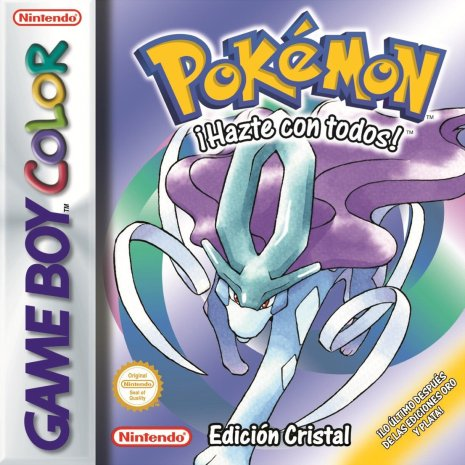 Carátula Pokémon Cristal