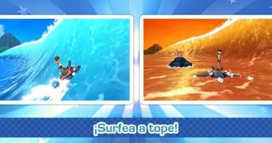 Minijuego Global «Surfea a tope»