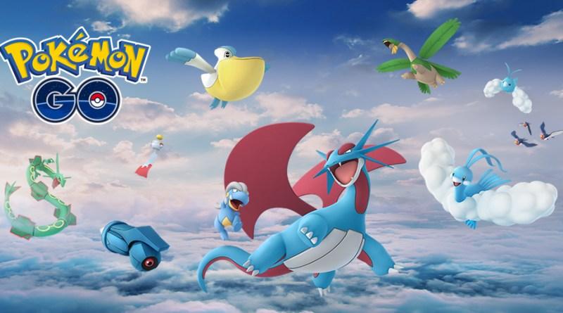 Rayquaza y más Pokémon de Hoenn llegan a Pokémon GO