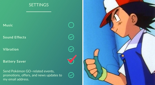 Pokemon Go battery saver guide & checklist