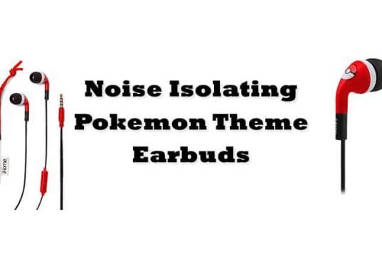 Noise Isolating Pokemon Earbuds