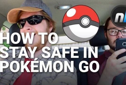 Safety tips for Pokemon Go parody video