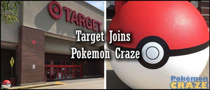 Target Joins the Pokemon Craze