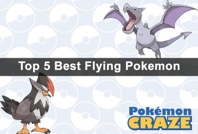Top 5 Best Flying Pokemon