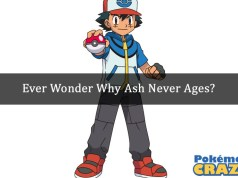 Ever Wonder Why Ash Never Ages.