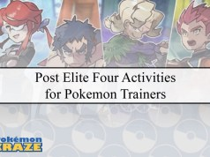 Post Elite Four Activities for Pokemon Trainers