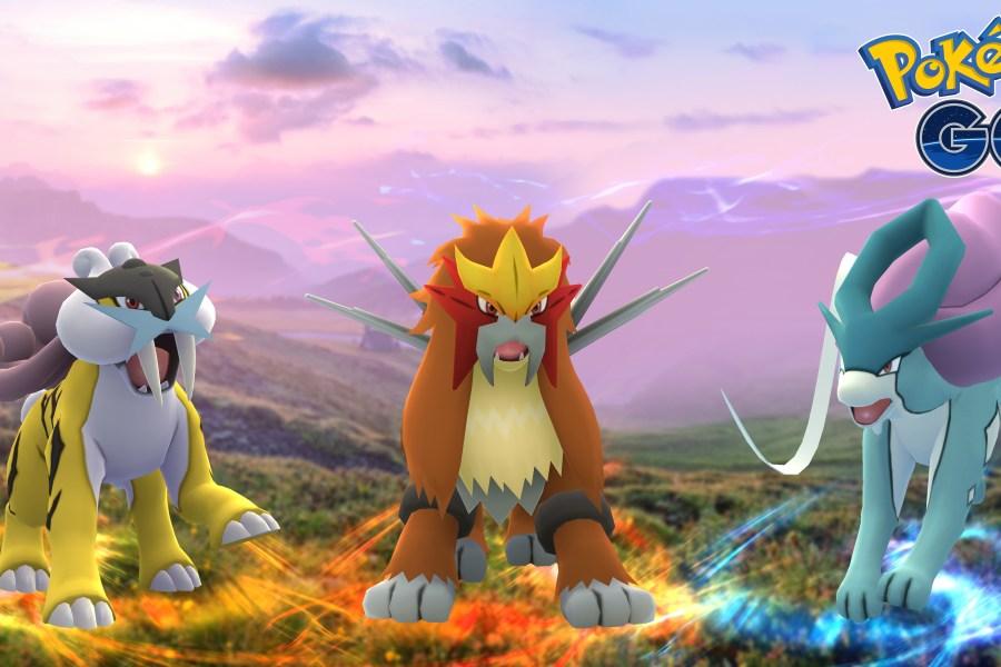 pokemon go, Pokemon GO: Ecco i cani leggendari Entei, Raikou e Suicune