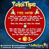 Poke Tips - Free Pokemon Go Coins Philippines