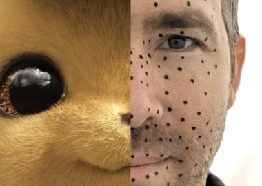 Ryan Reynolds compartilha foto dos bastidores de Detective Pikachu