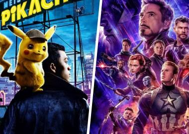 Detetive Pikachu vs Vingadores: Ultimato
