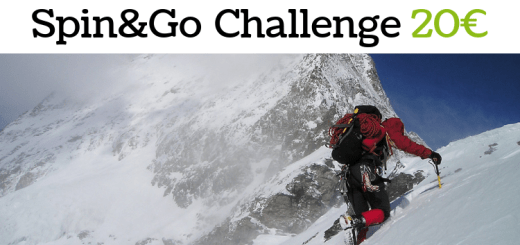 Challenge Spin&Go 20€ -