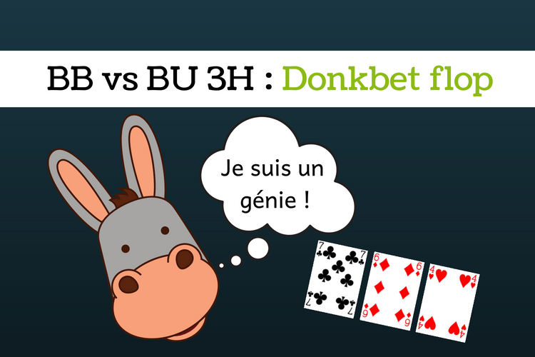 Donkbet BB vs BU 3 way - sng jackpot