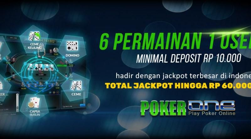 situs poker jackpot terbesar POKER1ONE