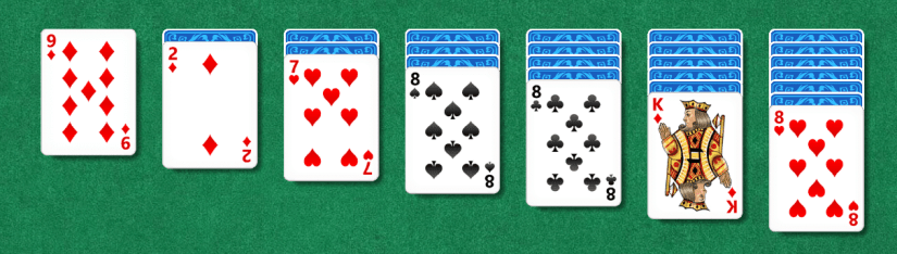 Image of Set Up of Solitaire
