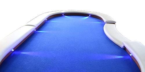 Pokertisch mit LEDs Dilego