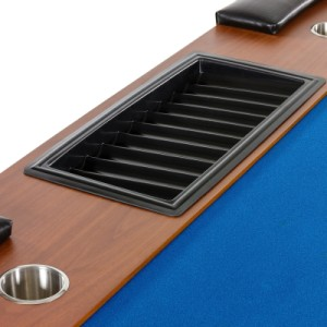 chiptray chips ROYAL FLUSH pokertisch dealer