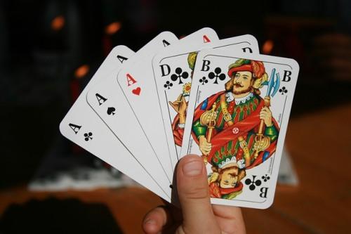 five card draw poker