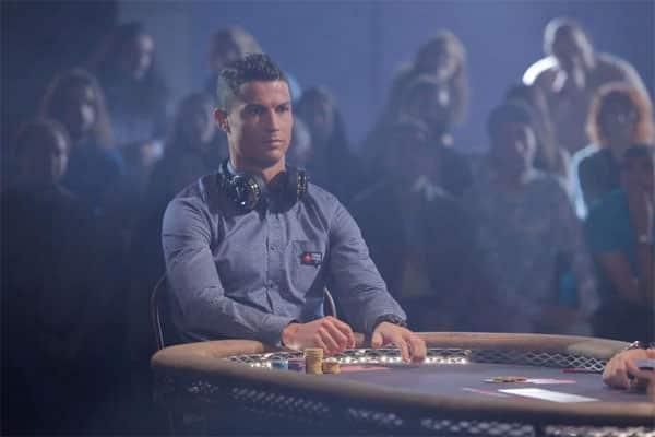 Christiano Ronaldo, chơi poker, choi Poker, Aaron Paul