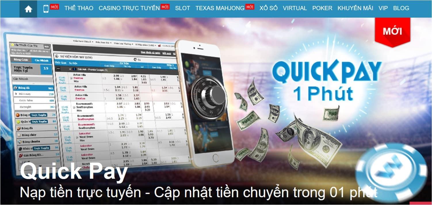 Cách chuyển tiền quick pay, sòng bài trực tuyến, tài khoản chơi poker online