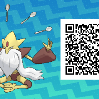 Pokemon Sun and Moon QR Scanner codes for Mega Alakazam and Shiny Mega Alakazam