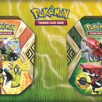 Pokémon TCG: Island Guardians Tin features Tapu Koko-GX and Tapu Bulu-GX