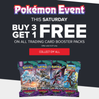 Pokémon Event taking place this Saturday, May 27, at GameStop