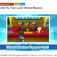 Ninth global mission, Try Your Luck!, is the last global mission in Pokémon Sun and Moon