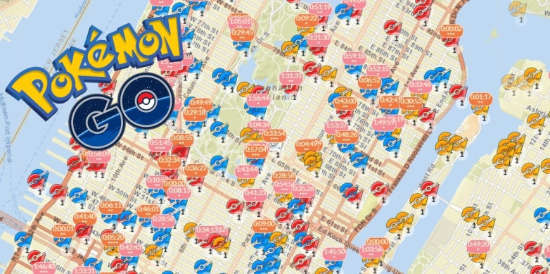 Pokemon Go Gym Map