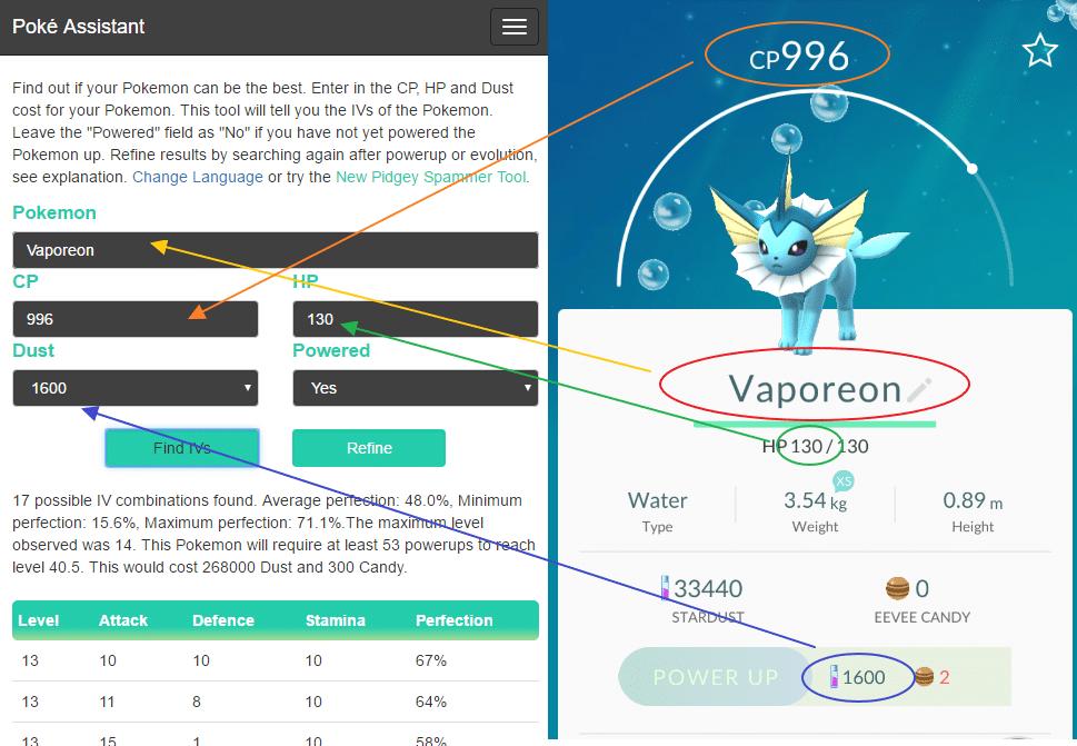 Poke Assistant-IV Calculator - One-Stop App for Pokemon Go
