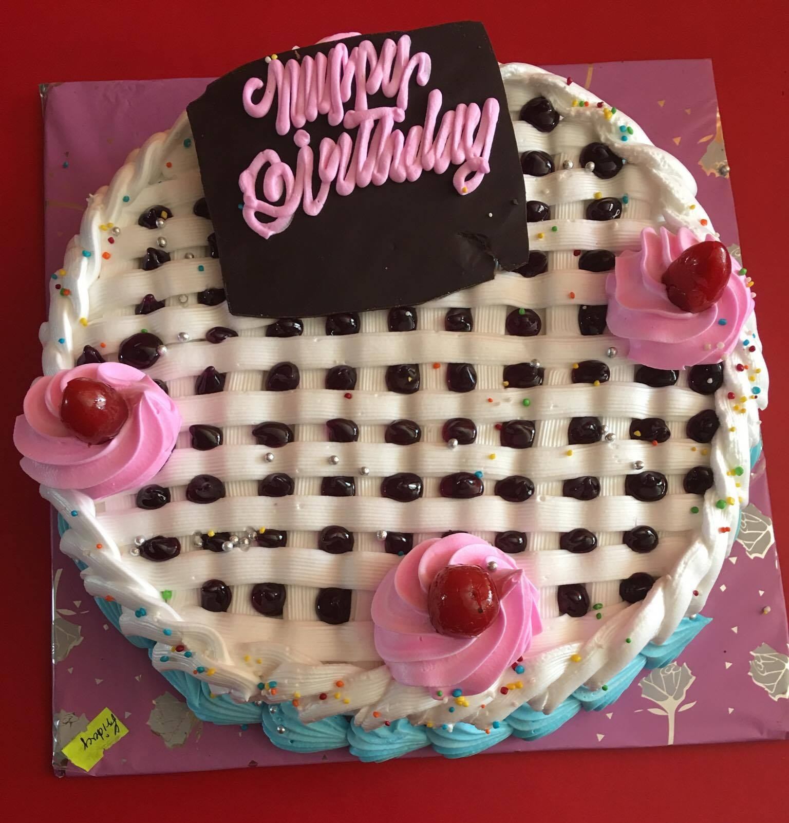 Happy Birthday Cake Checker 1001 Online Pokhara Cakes And Bakeries