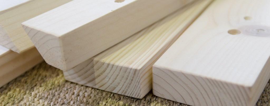 pièces en bois