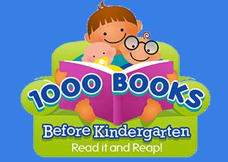 Logo for 1000 Books Before Kindergarten