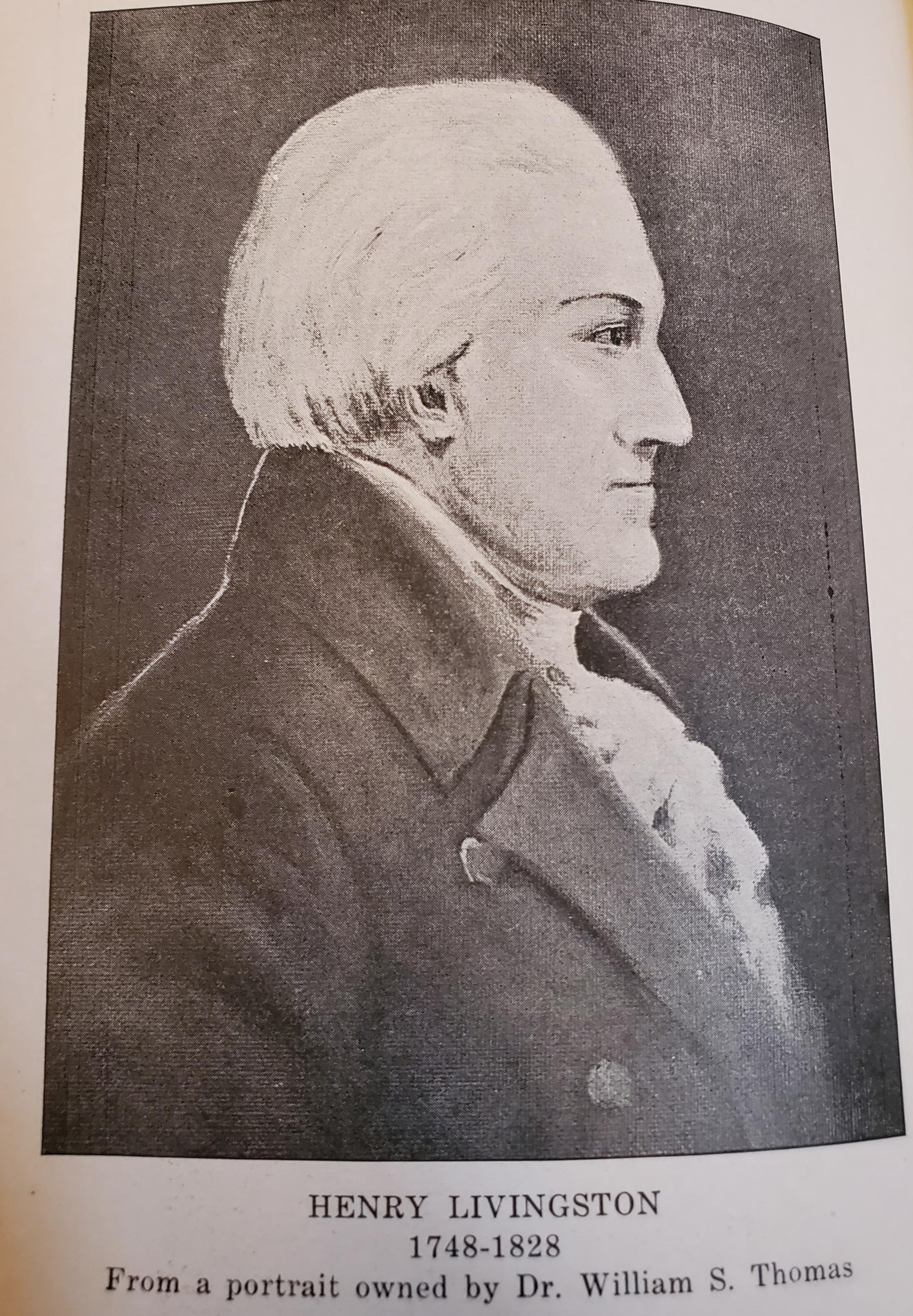 Portrait of Henry Livingston Jr.