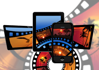 Image of movies on devices