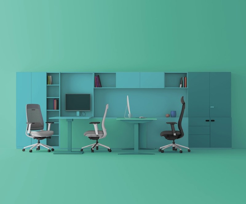fotel ergonomiczny Shine w biurze