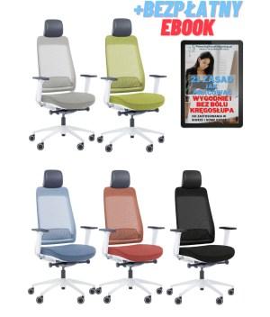 Fotel ergonomiczny biurowy Shine EFG 100W