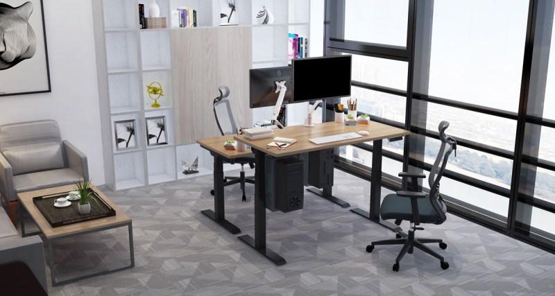 Regulowane biurko elektryczne stojÄ…ce Premium ZB-300,