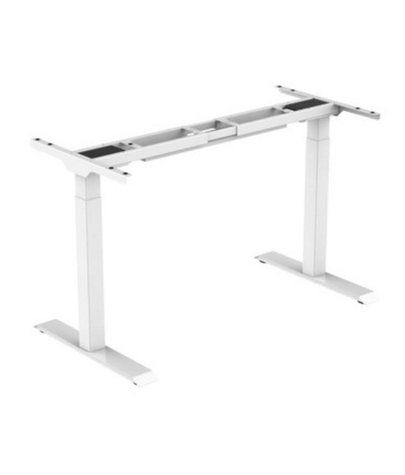 stelaż biały regulowany elektrycznie ,biurko Comfort Zb-200