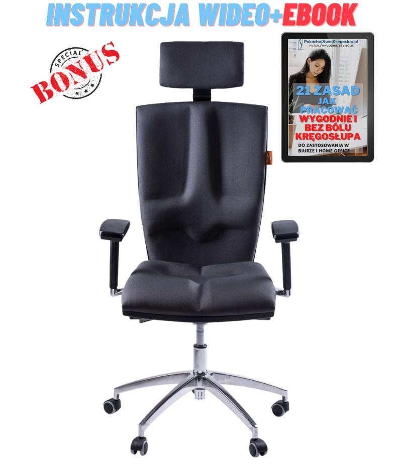 Fotel ergonomiczny biurowy Elegance kulik system