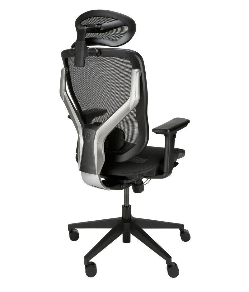 ergonomiczne krzesło biurowe Zhuo Sulaco czarne, tył