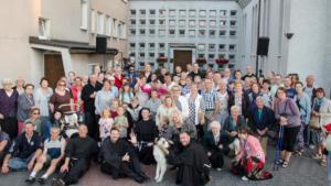 Uliczny koncert w Kołobrzegu