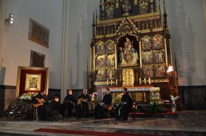 Występ w katedrze