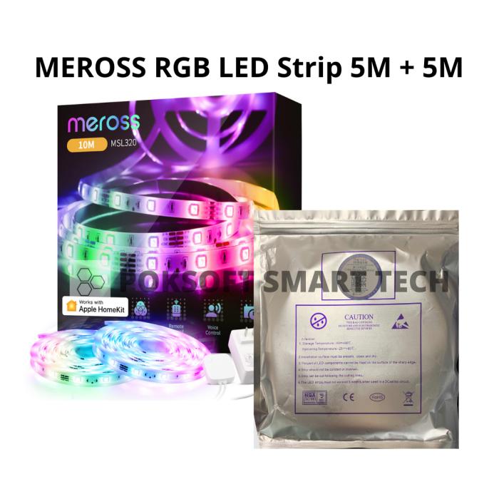 Meross Smart WiFi Light Strip 智能RGB燈帶(5+5)組合