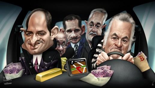 PARASOL CORRUPCION Autor: ALEX GALLEGO