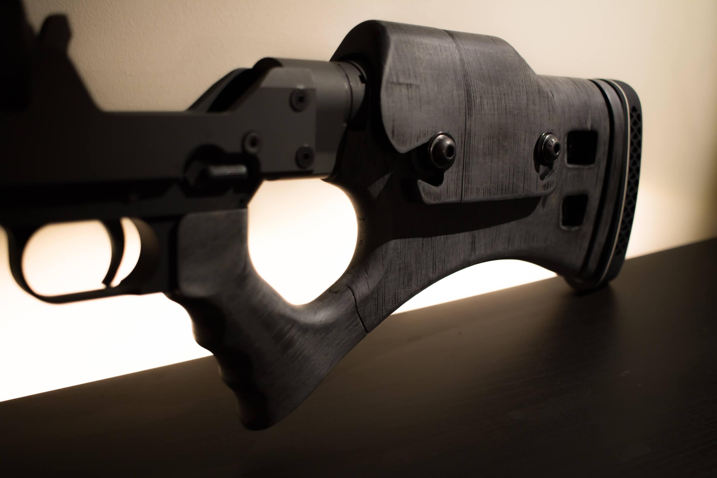 Serbu RN-50 3D Printed Carbon Composite Thumbhole Rifle