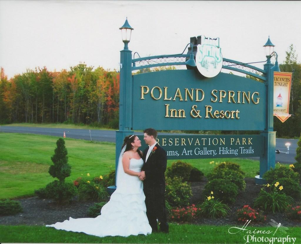 wedding poland spring