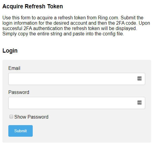 Refresh Token Login