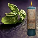 Basil Pillar Candle