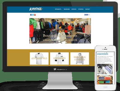design site internet boutique tremblant
